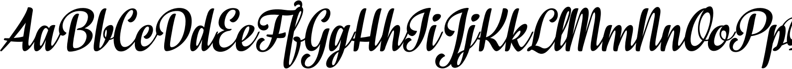 In And Out Regular Italic Font