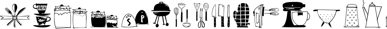 Kitchen Doodles