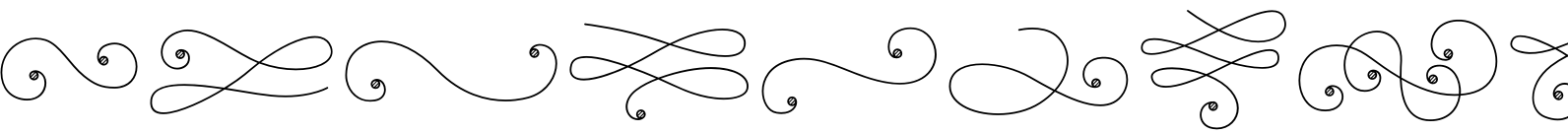 La Chic Flourishes Shaded Font