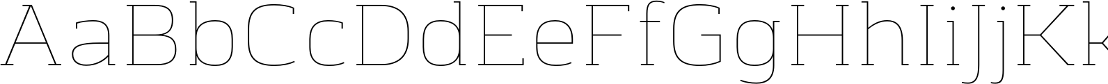 Chercher Hairline Font