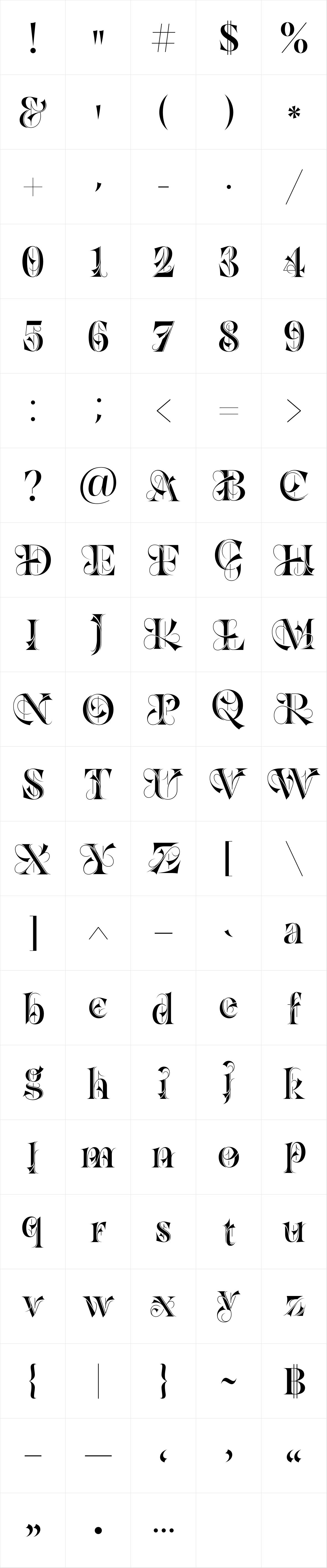 Dawnora Initials