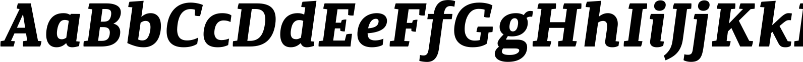 Canberra FY Bold Italic Font