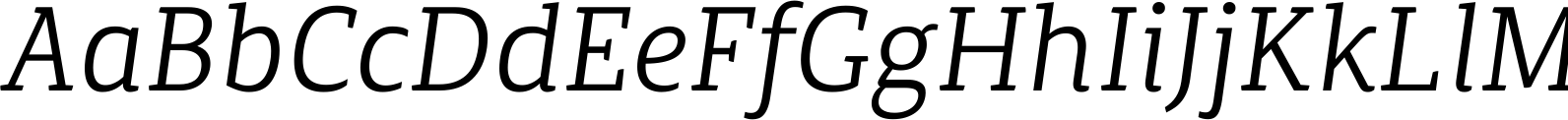 Canberra FY Book Italic Font