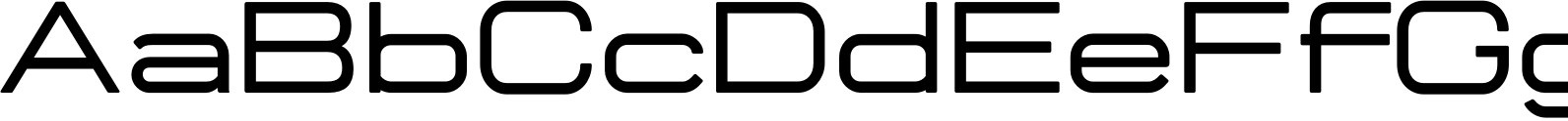 Manifold CF Extended Demi Bold Font