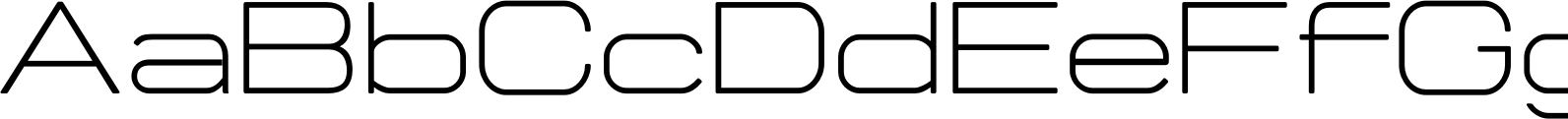 Manifold CF Extended Light Font