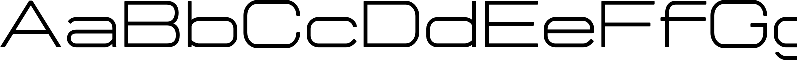Manifold CF Extended Font