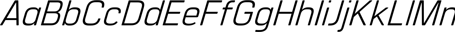 Manifold CF Regular Oblique Font