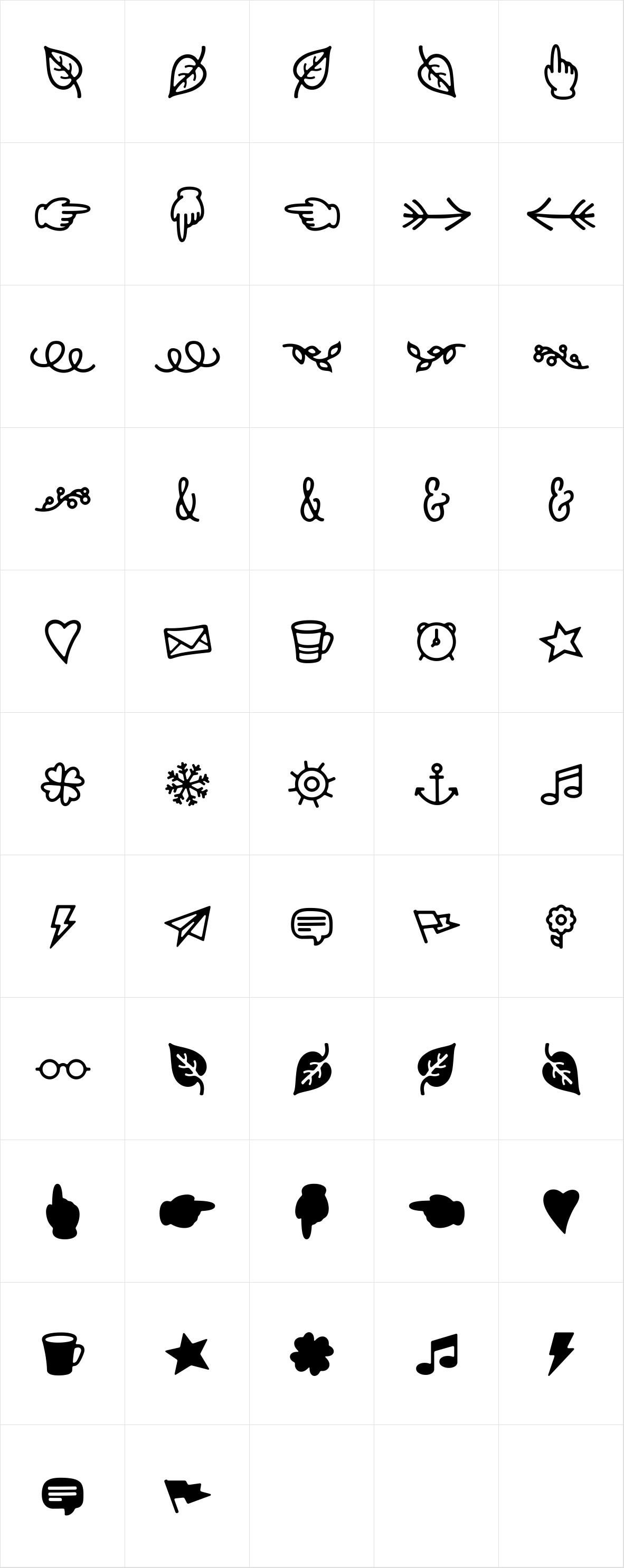 Nexa Rust Extras Icons