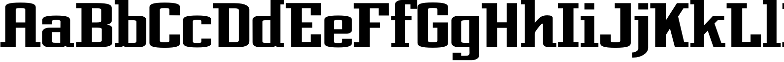 Posterface Extended  Font