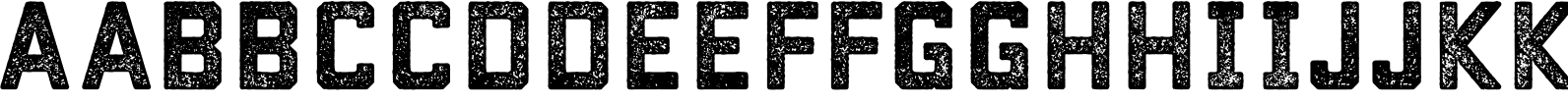 Conifer Rough Font