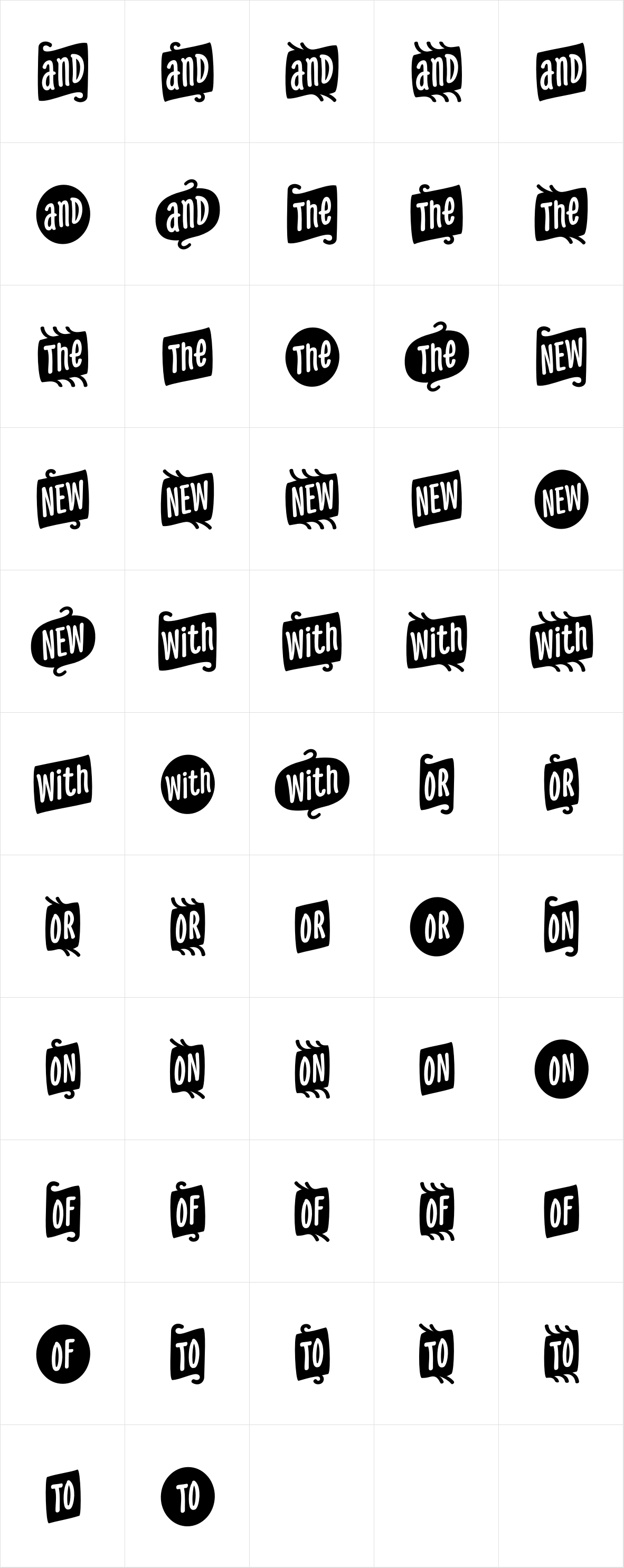 PH Icons Word black