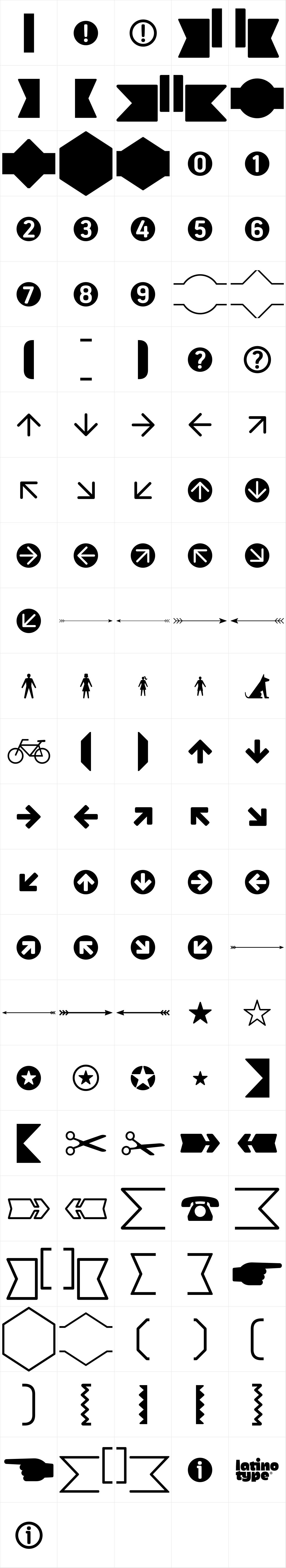 Estandar Rounded Dingbats