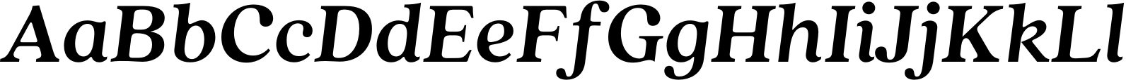 Quincy CF Bold Italic Font