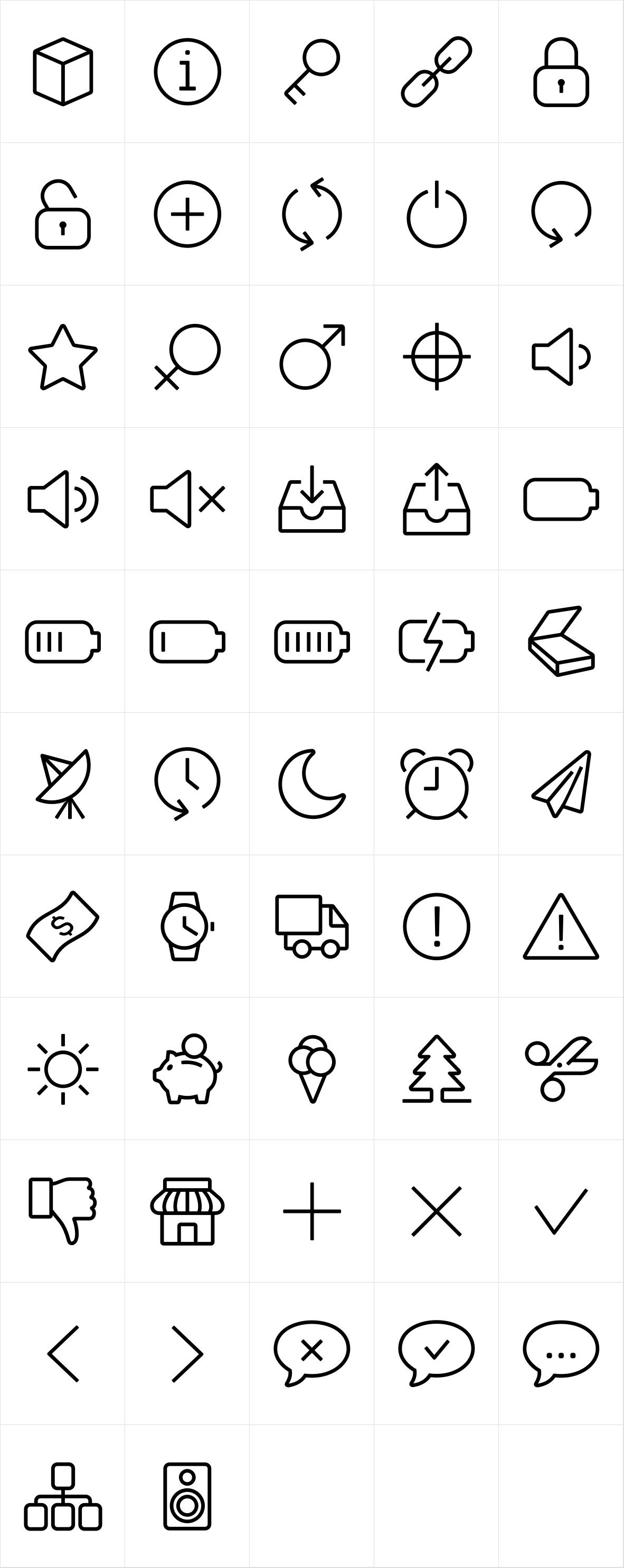 Panton Icons D Regular