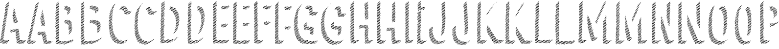Cluster Shadow 123 Font