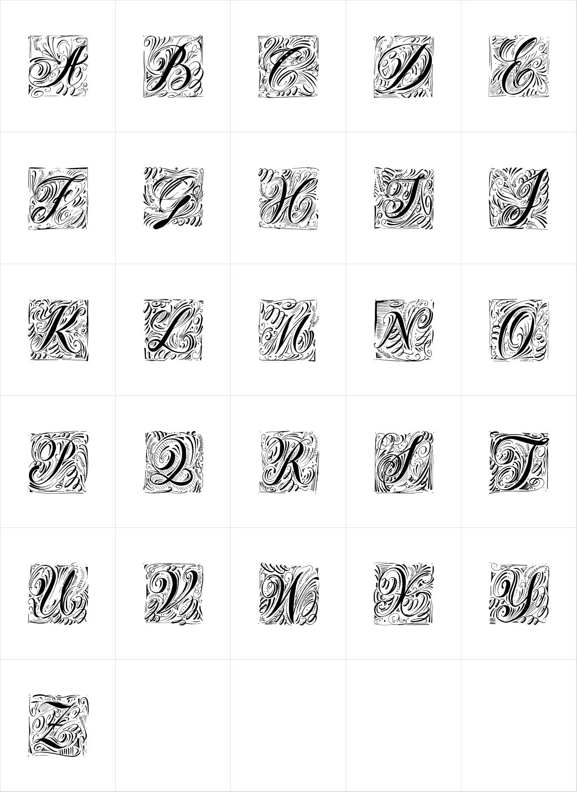Natura Stamps