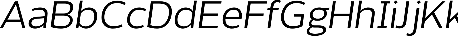 Without Sans Regular Italic Font
