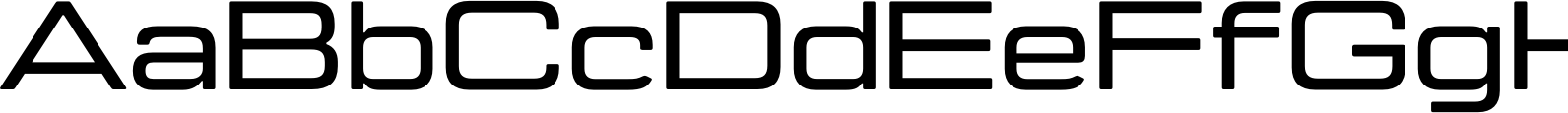 Manifold Extended CF Demi Bold Font