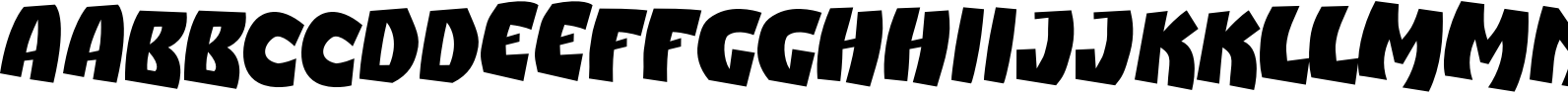 Action Packed Font