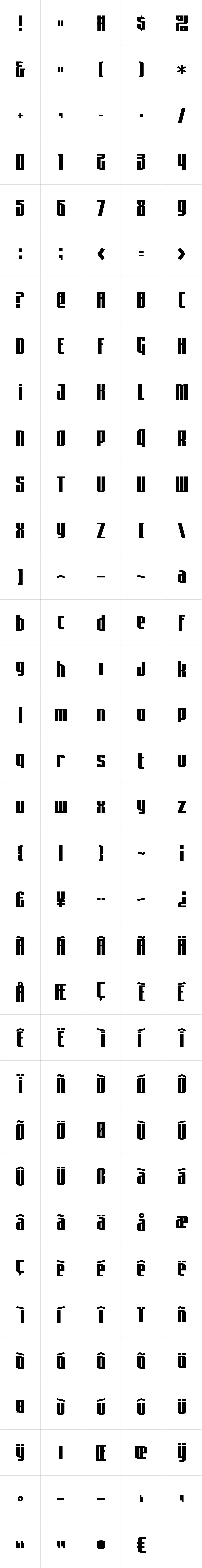 Asimov Sans