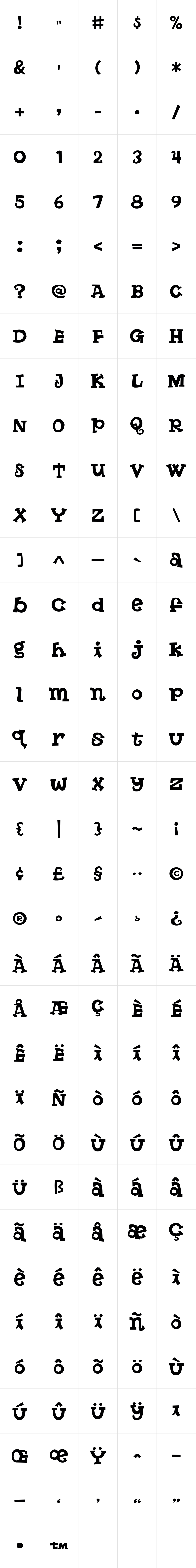 Butterfinger Serif