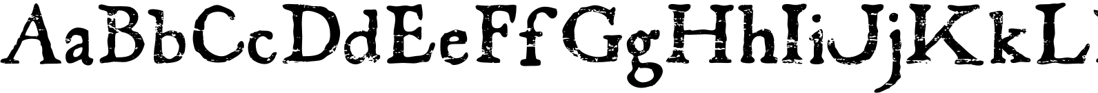 El Franco Distressed Font