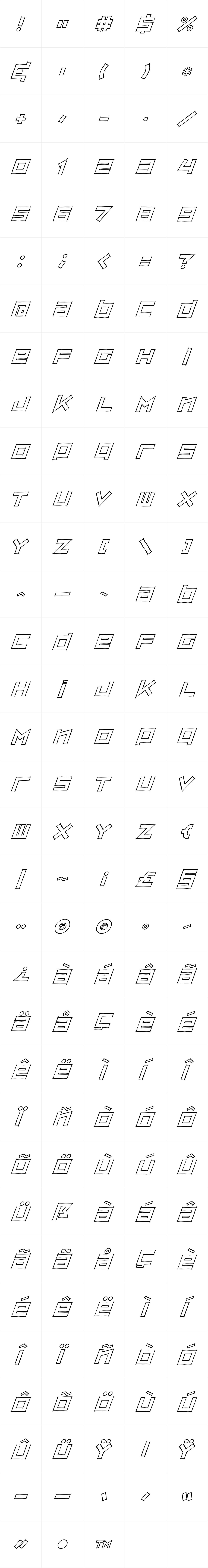 Zipsonik Sketch Italic