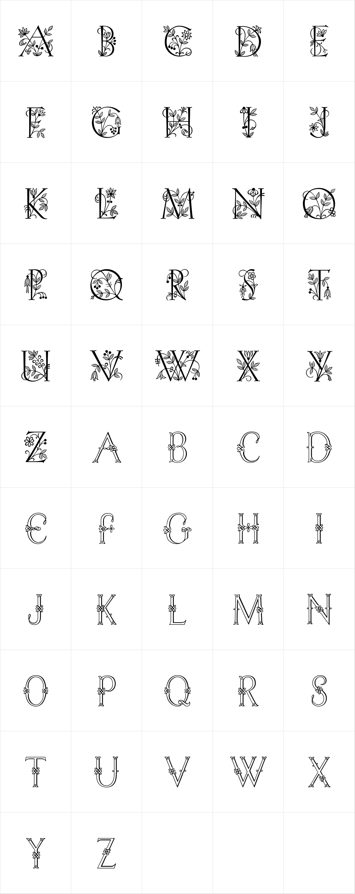 Initials RMU Four