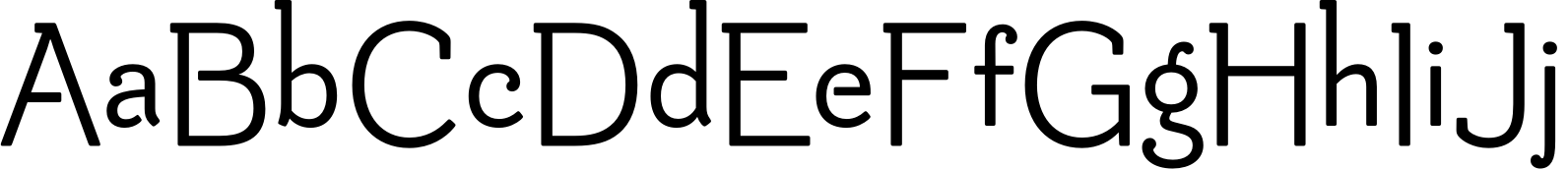Be Creative Demibold Font