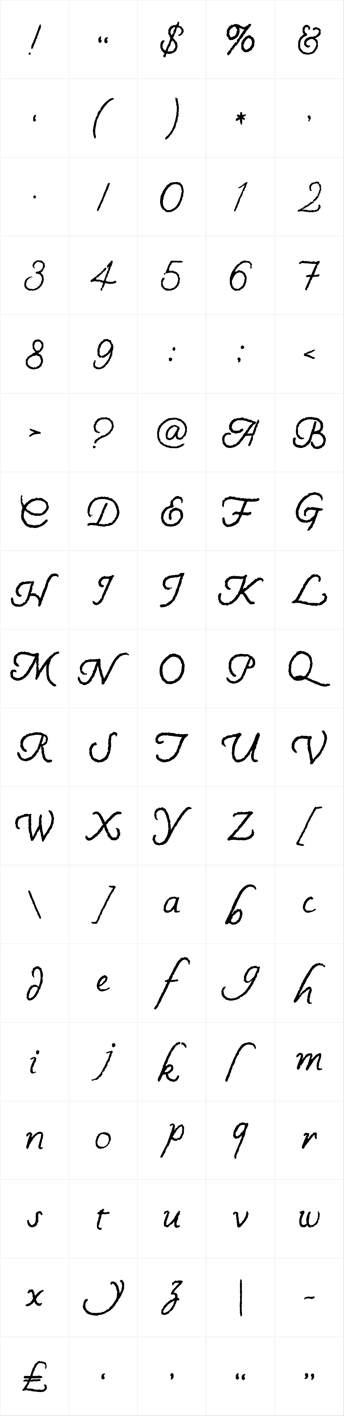 Handly Script Regular