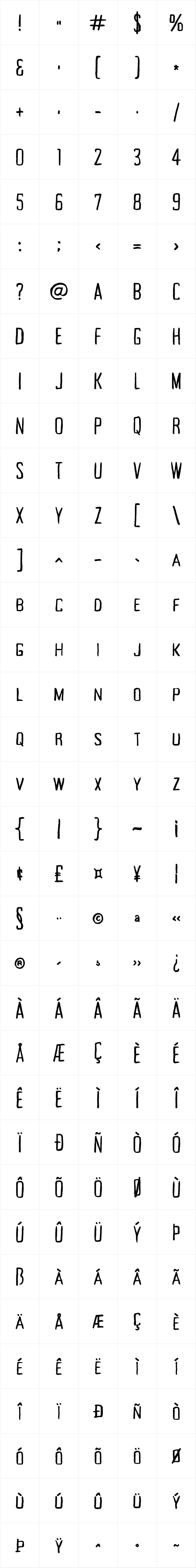 Tallow Sans TC Pen