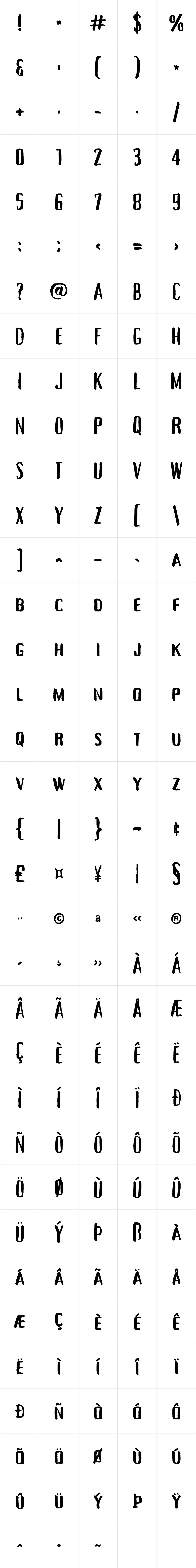 Tallow Sans TC Brush