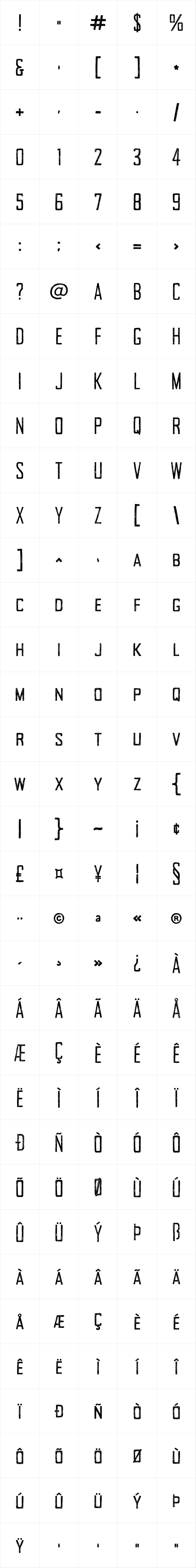 Tallow Sans TC Sketch