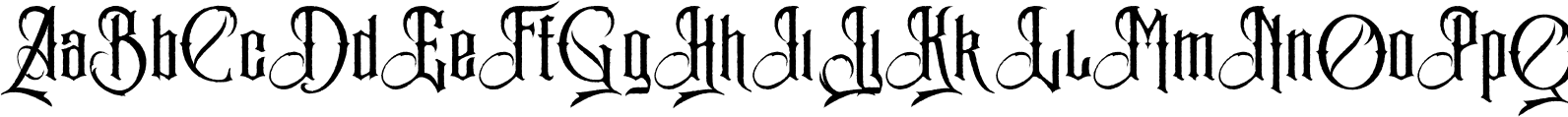The mariam rough Font