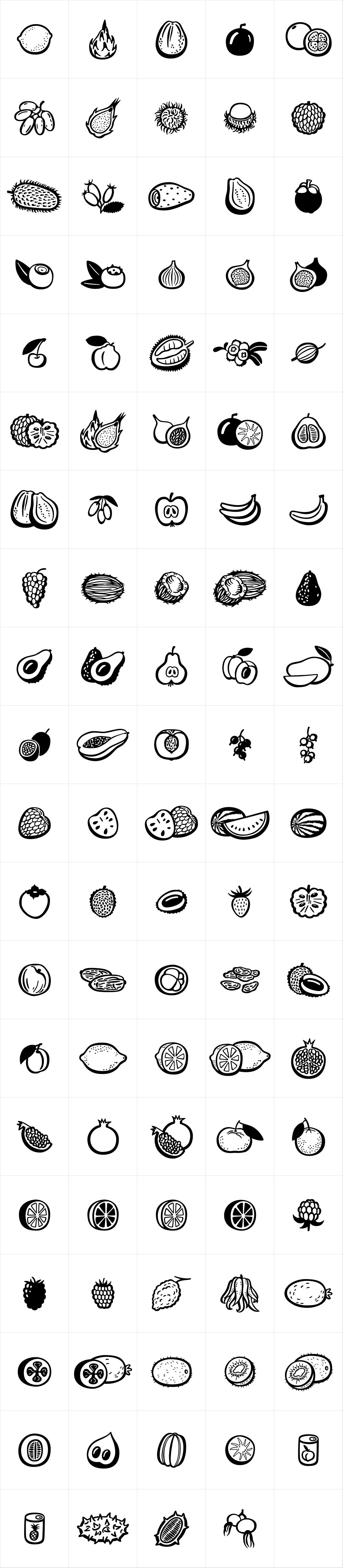 Mr Foodie Fruits