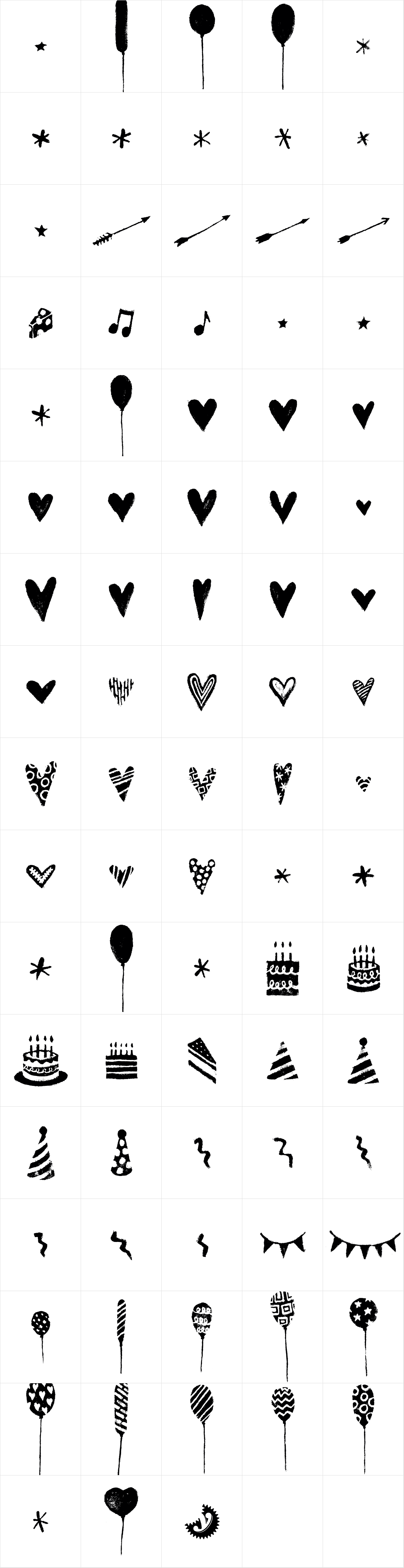 Canvas Icons Two