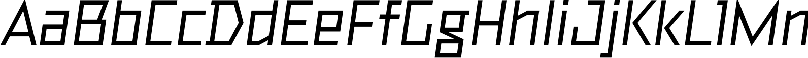 TT Bricks Medium Italic Font