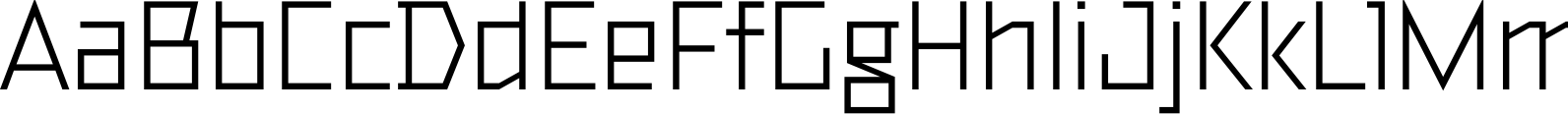 TT Bricks Regular Font