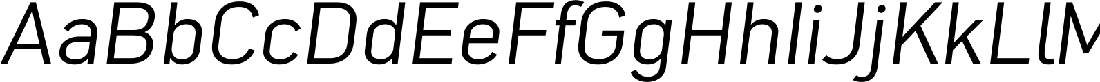 Nota Normal Oblique Font