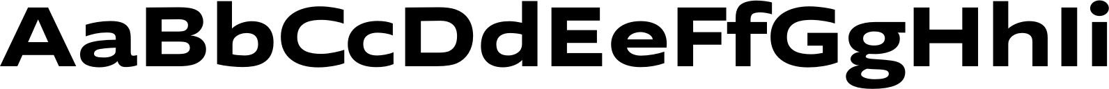 Supra Bold Extended Font