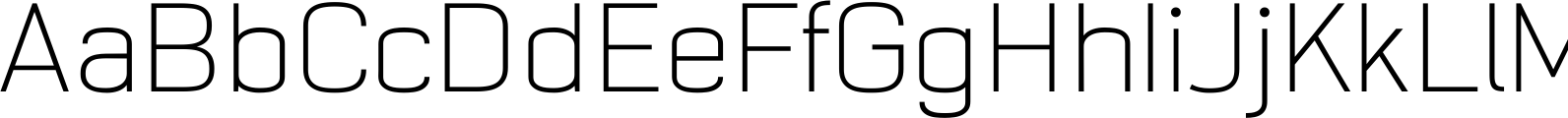 NotaBene ExtraLight Font