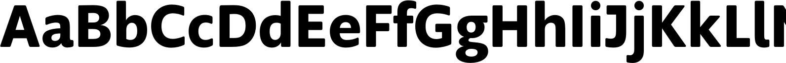 Supra Rounded Demibold Font