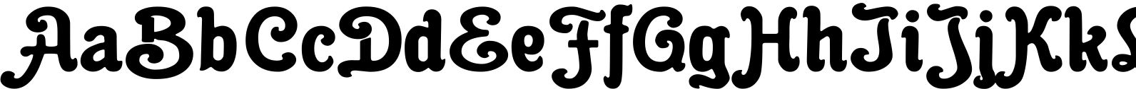 Cacao Fat Font