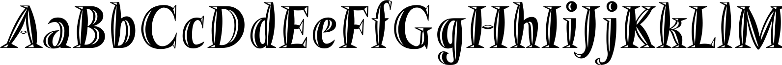 Barracuda Bold Relief Font