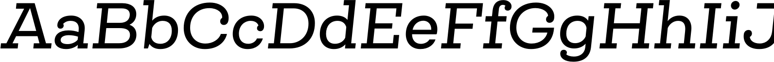 Queulat Alt Medium Italic Font