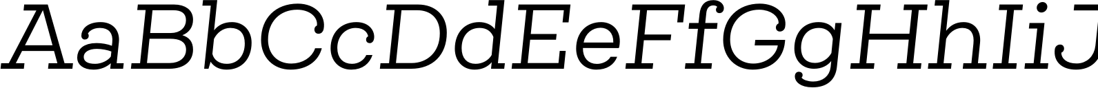 Queulat Alt Regular Italic Font