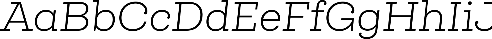 Queulat Light Italic Font