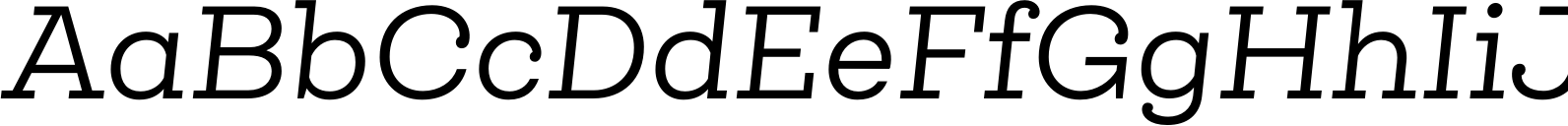 Queulat Regular Italic Font