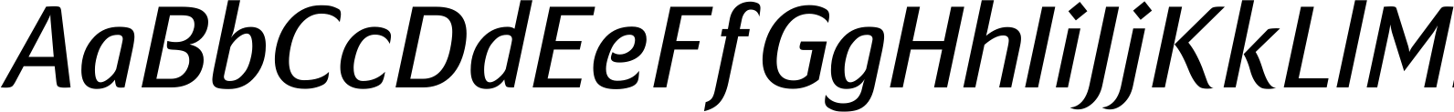 Mondial Plus Normal Italic Font