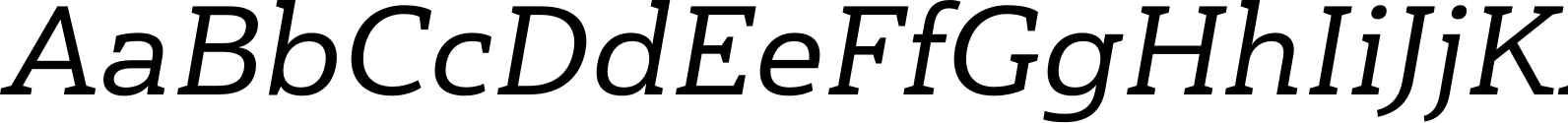 Haboro Slab Ext Medium Italic Font